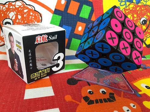 3x3 QiYi Qubami base negra