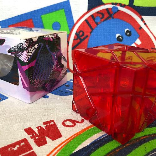 Ninja ghost 3x3 base roja transparente