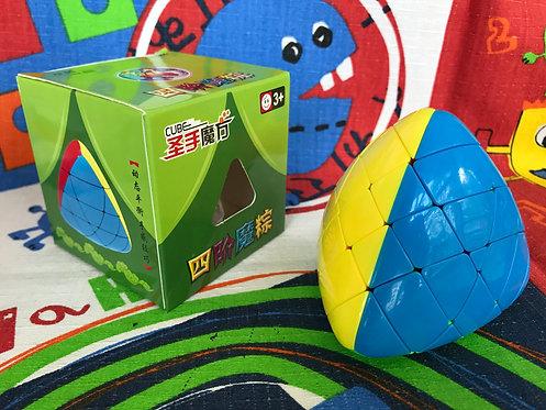 ShengShou Megamorphix 4x4 stickerless colored