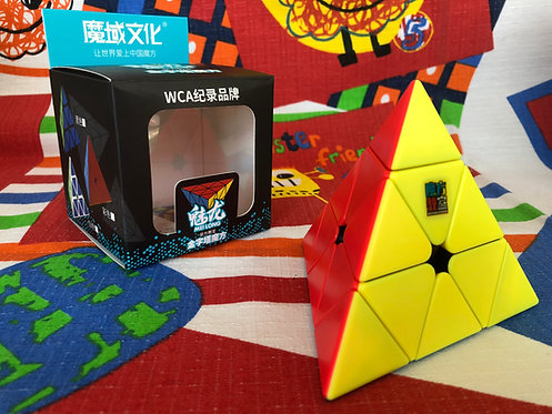 Moyu Meilong pyraminx stickerless