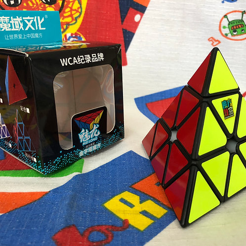 Moyu Meilong pyraminx base negra