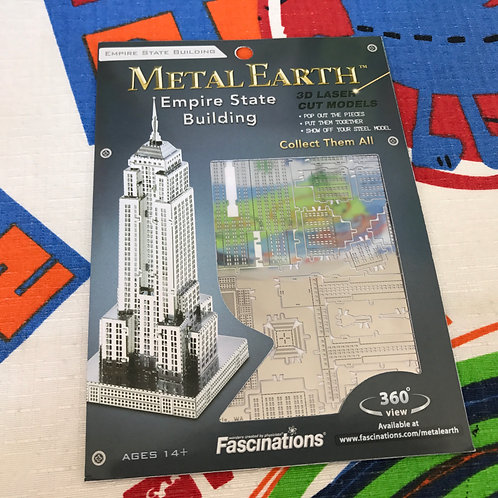 Puzzle metálico 3D Empire State Building