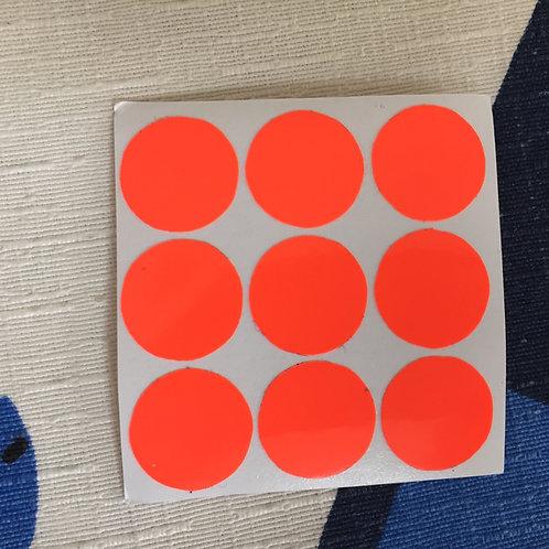 Cara 3x3 floppy vinil naranja