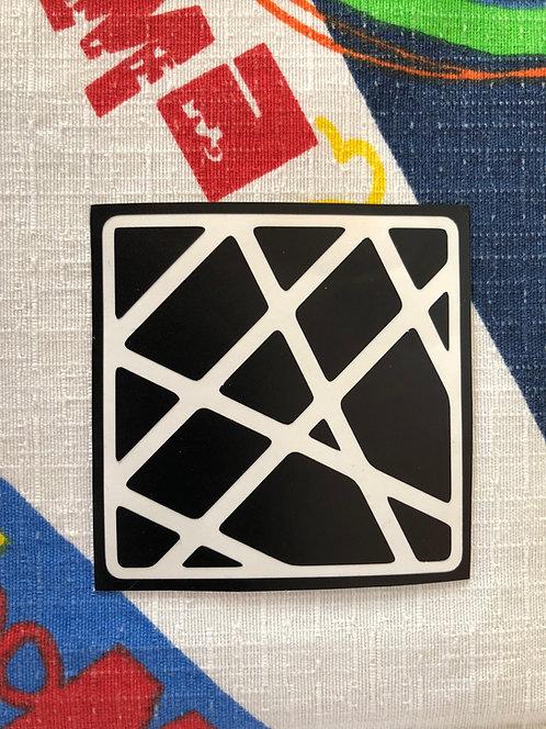 Cara negra suelta axis 4x4 negra