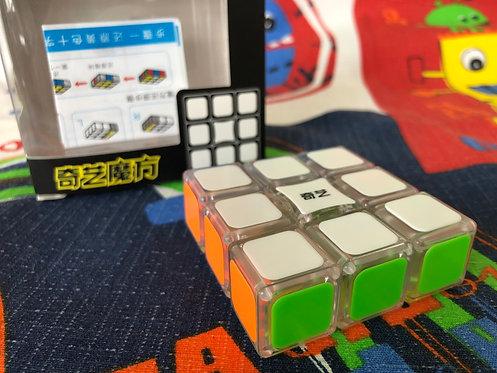 QiYi 3x3x1 Super Floppy base transparente