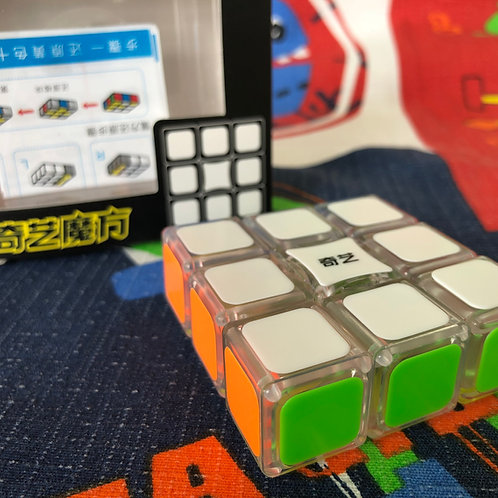QiYi 3x3x1 Super Floppy base transparente