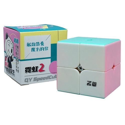 2x2 QiDi S v2 stickerless neon