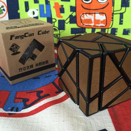 FangCun ghost 3x3 negro stickers cobre