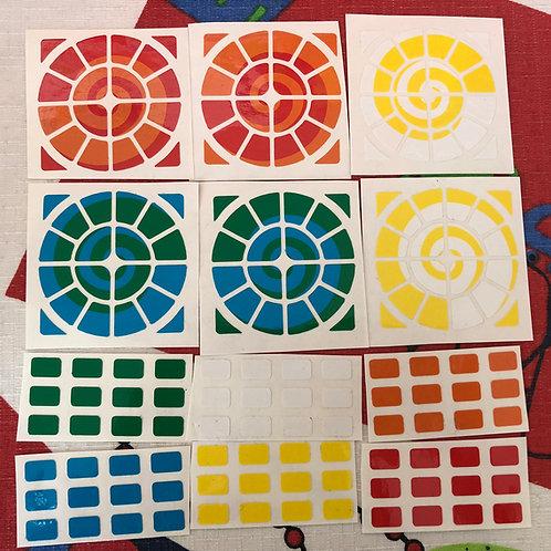 Stickers Time machine vinil espiral