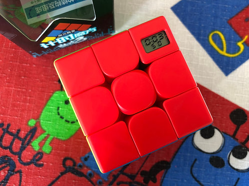 3x3 Moyu Meilong timer cube stickerless