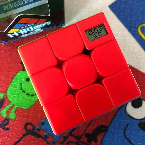 3x3 Moyu Meilong timer cube stickerless