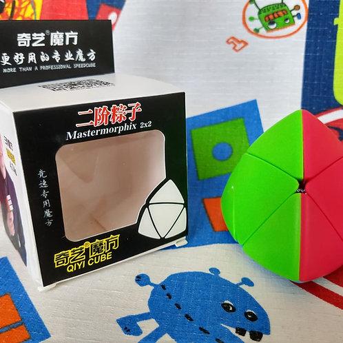 QiYi Mastermorphix 2x2 stickerless colored