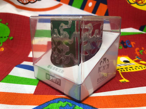 QiYi Gear cylinder tiles base transparente