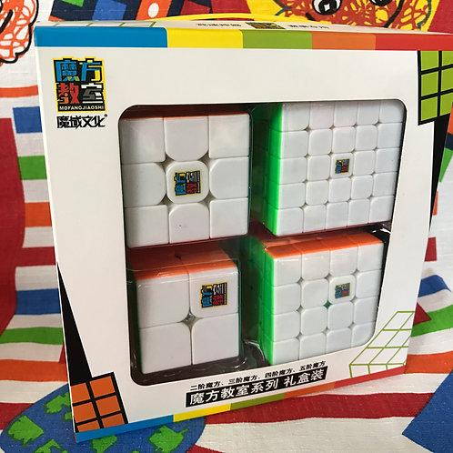 Set de 4 cubos Cubing Classroom