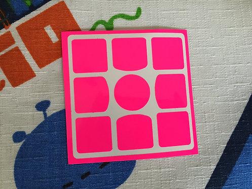 Cara 3x3 Gans 3 56/57 vinil rosa