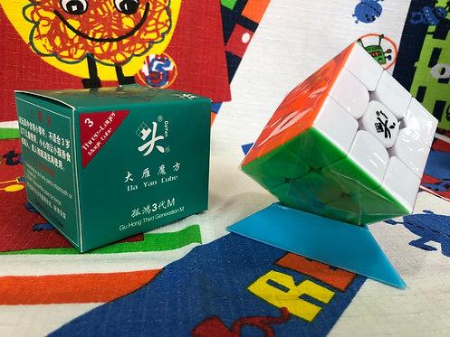 3x3 Dayan GuHong v3 magnético stickerless colored