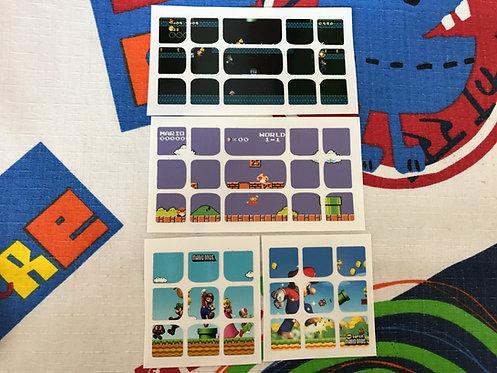 Stickers 3x3 vinil Mario