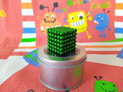 Neo Cube 5mm verde 216 piezas