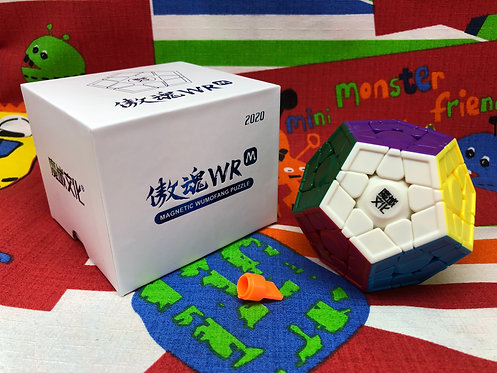 Moyu Megaminx Aohun WR magnético stickerless