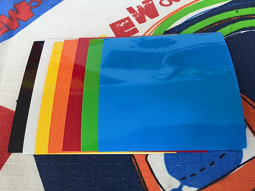 Vinil 10x10cm varios colores