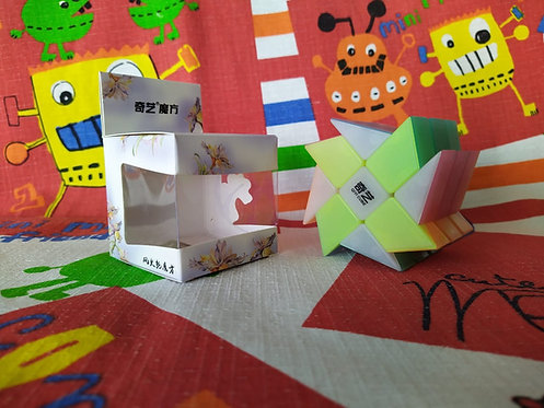 QiYi Windmill 3x3 jelly transparente