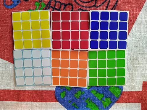 Stickers 4x4x4 Aosu vinil estándar