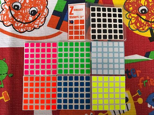 Stickers Z 6x6 Moyu Aoshi vinil full bright