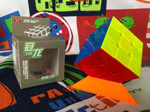 3x3 Moyu Guanlong Plus v3 stickerless colored