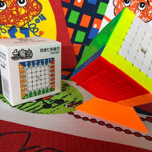 7x7 Yuxin Little Magic magnético stickerless colored