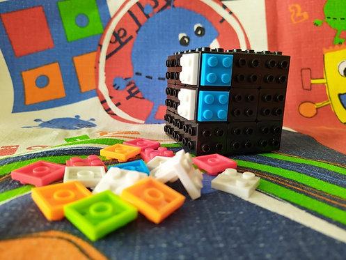 3x3x3 Building blocks base negra