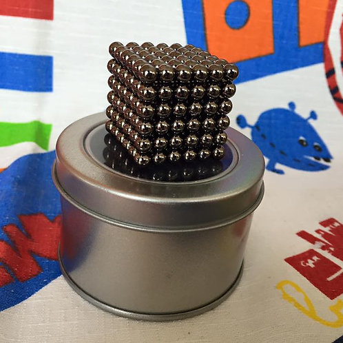 Neo Cube 3mm plata esferas