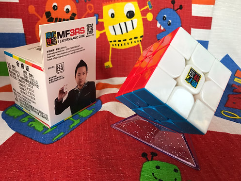 3x3 Moyu MoFangJiaoShi MF3RS Plus stickerless colored