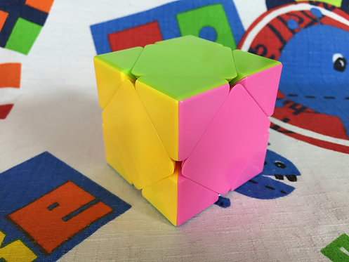 Fanxin Skewb stickerless candy colors