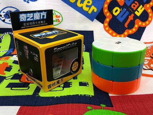 QiYi 3x3x3 cilíndrico stickerless