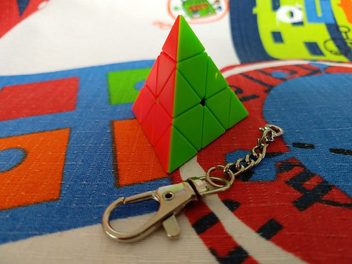 Z Pyraminx llavero stickerless