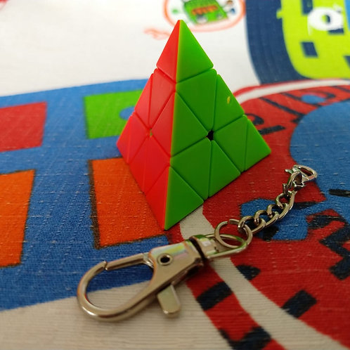 Z Pyraminx llavero stickerless