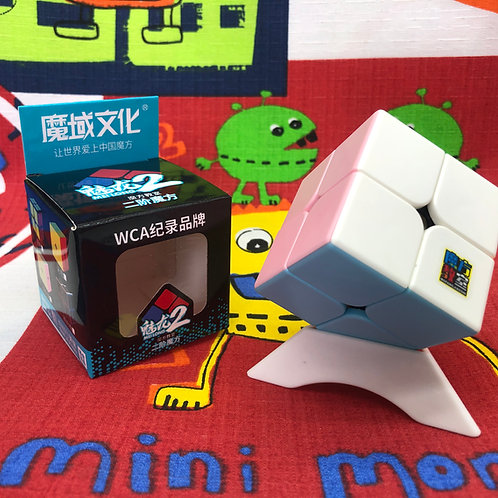 2x2 Moyu macaron stickerless