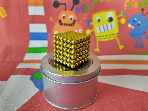 Neo Cube 5mm amarillo 216 piezas