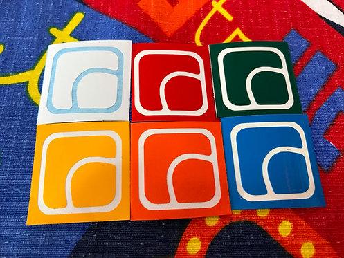 Stickers vinil Fidget Cube Spinner colores estándar