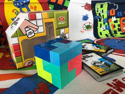 YJ Cubo soma magnético stickerless