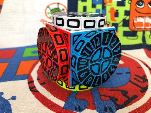 Time Machine con stickers vinil negro