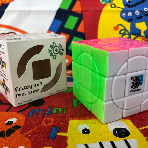 Dayan Crazy 3x3x3 plus Neptuno stickerless candy colors