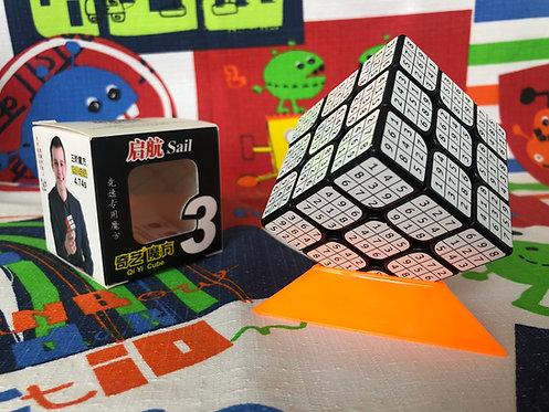 3x3 QiYi Sail sudoku 9x9 base negra