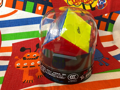 QiYi Pentacle cube stickerless colored
