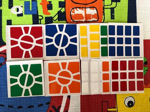 Stickers Super Square 1 vinil estándar