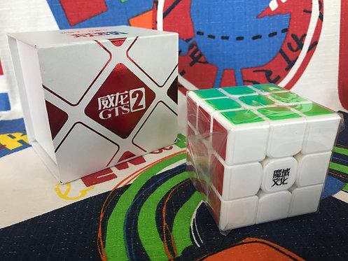 3x3 Moyu Weilong GTS v2 base blanca