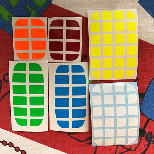 Stickers 2x4x6 Hunter Pillow vinil half bright
