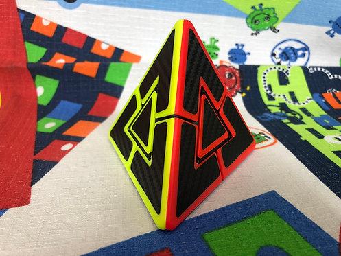Z Pyraminx Dúo colored phantom