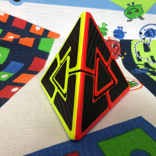Z Pyraminx Dúo colored phantom