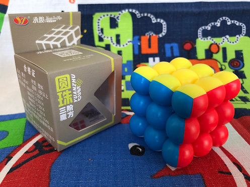 3x3 YJ Ball cube stickerless